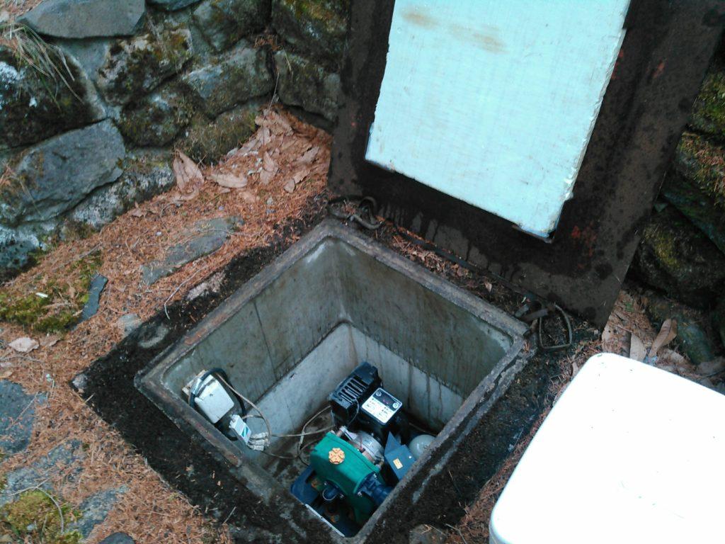 日立深井戸用ポンプDMP-400V