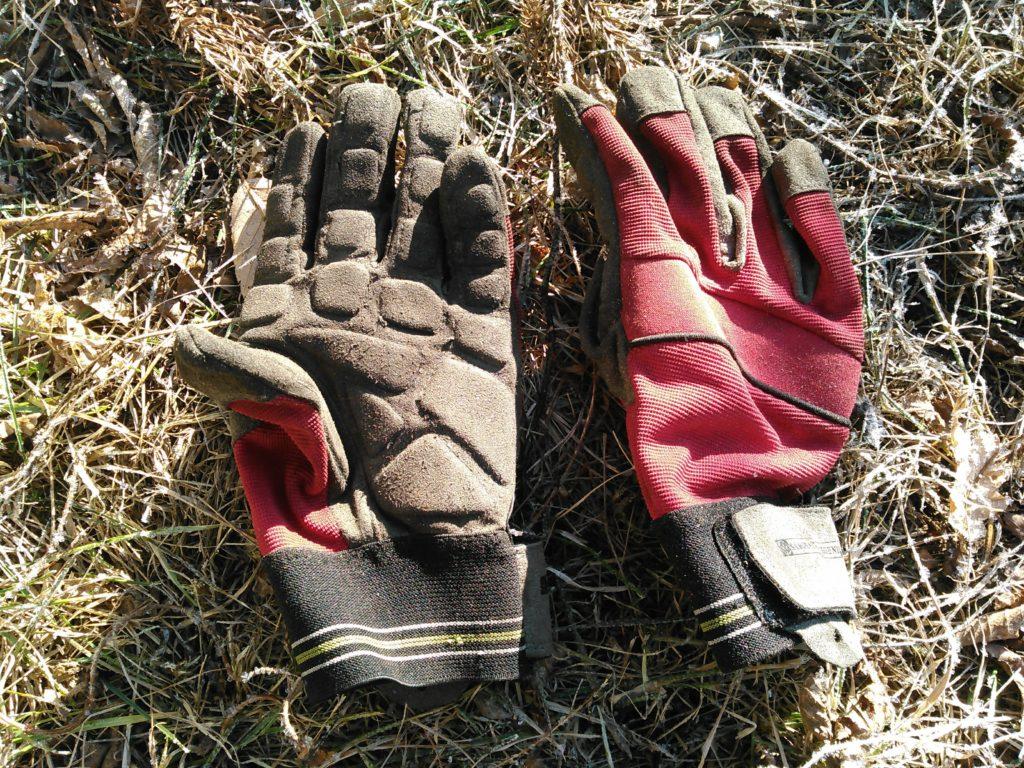 サムライレジェンドの防振手袋