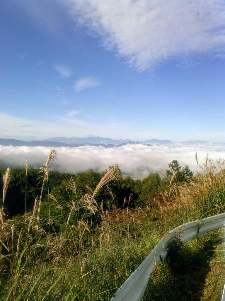 八ヶ岳からの雲海