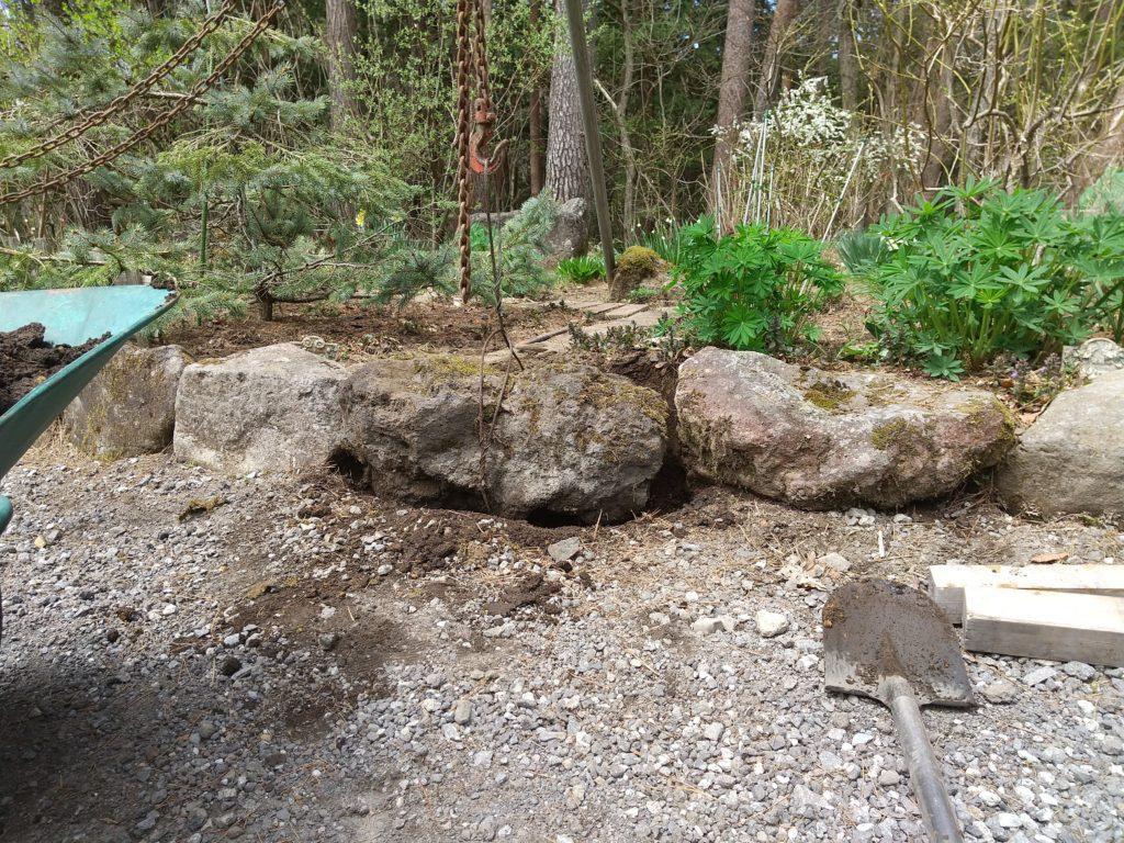 庭石の置き方