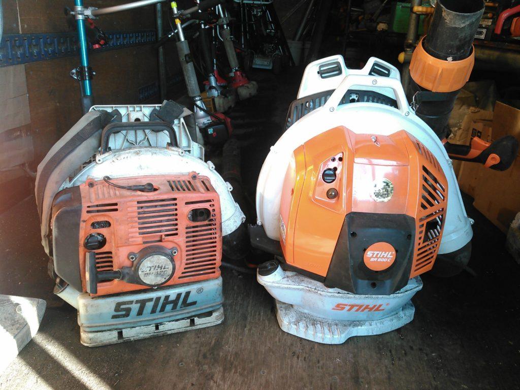 スチールBR800C-EとBR420