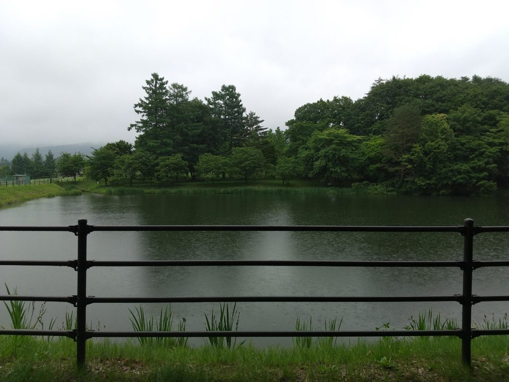 岳麓公園のため池