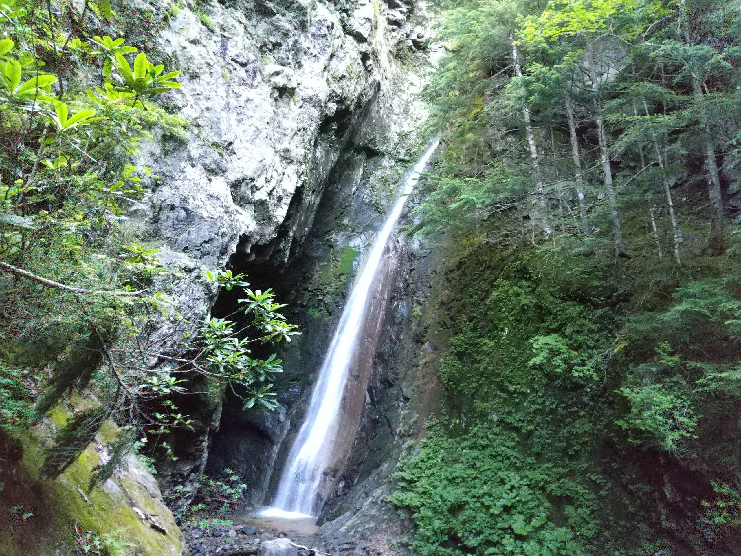 醤油樽の滝