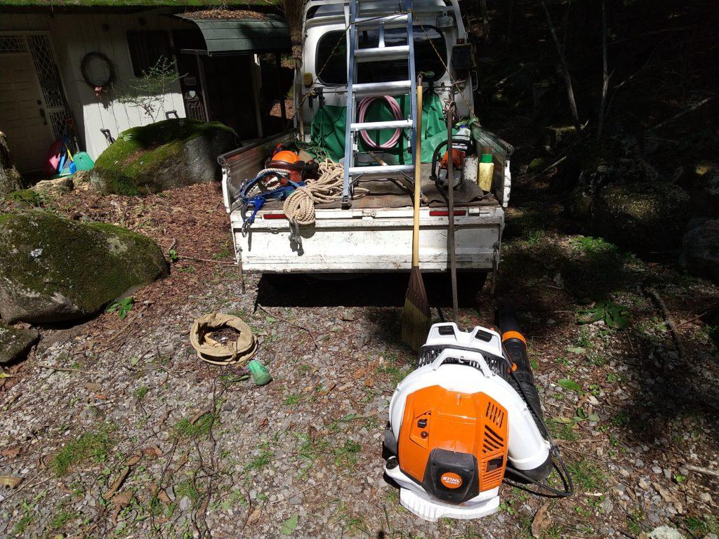 屋根掃除に必要な道具