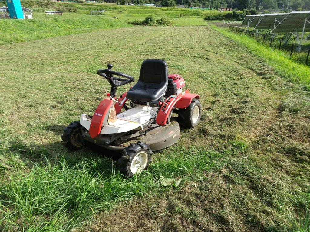 キョーリツ乗用型草刈り機