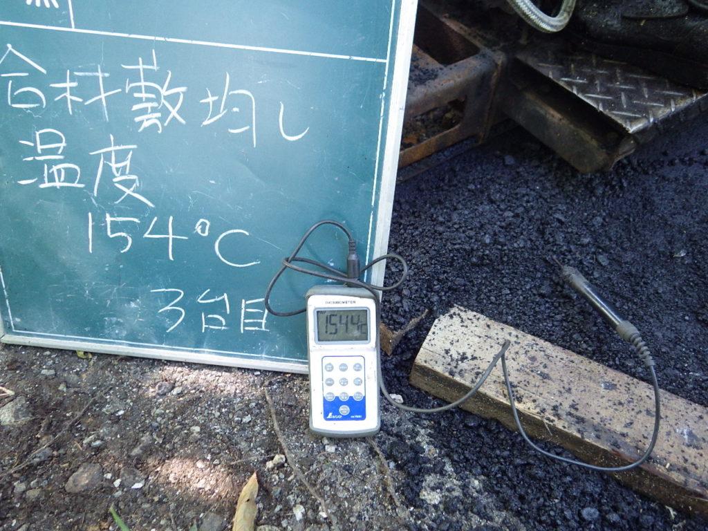 舗装の温度計