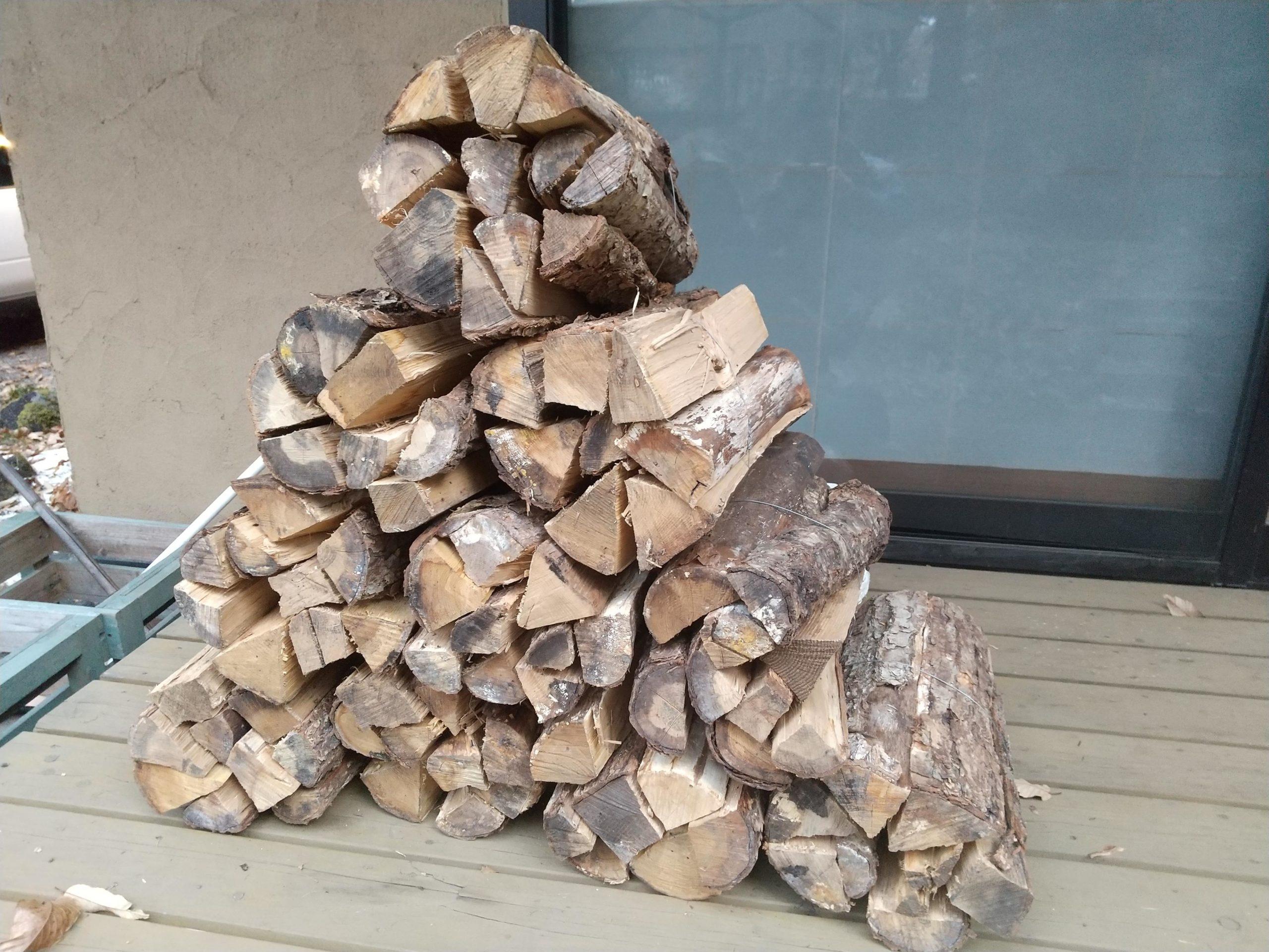 10束の薪のピラミッド