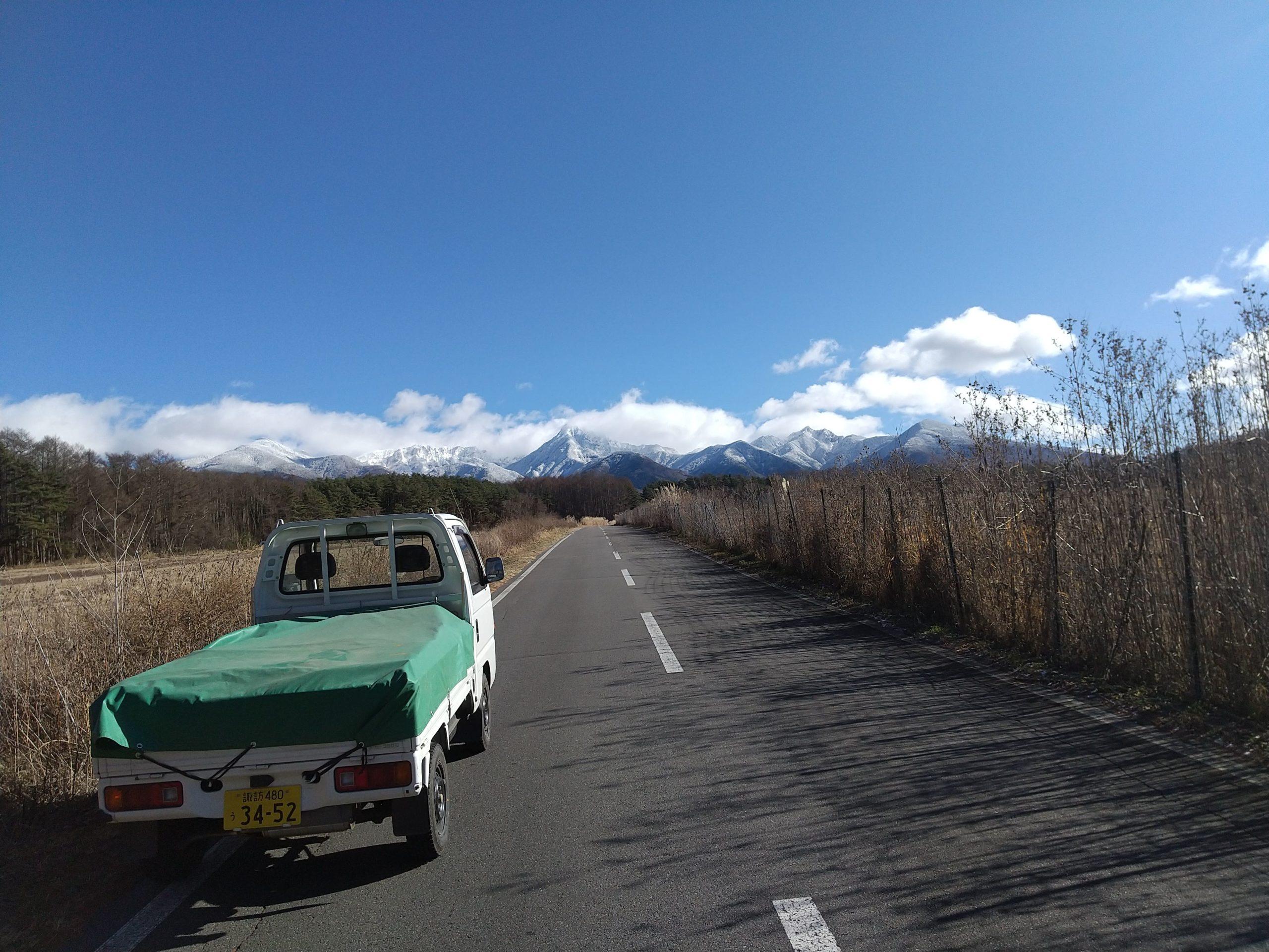 厳寒の南八ヶ岳