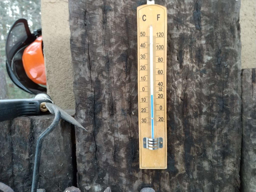 マイナス6℃