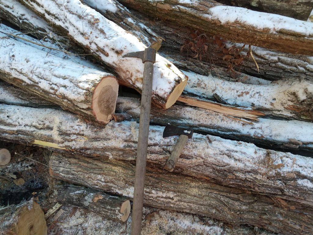 鳶口と手斧