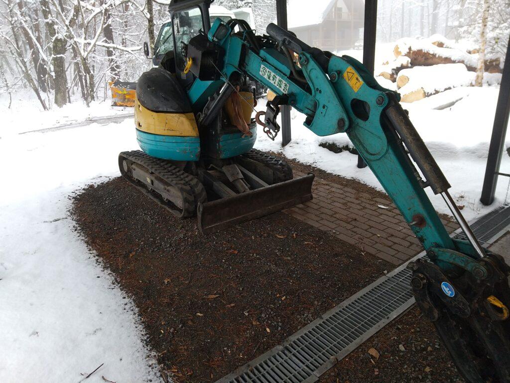 クボタの林業機械