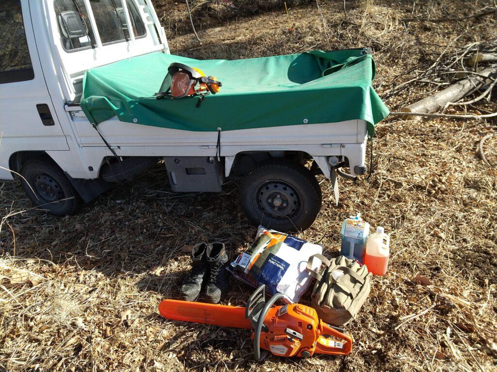 薪狩り道具