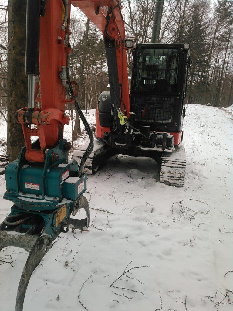 日立の林業機械