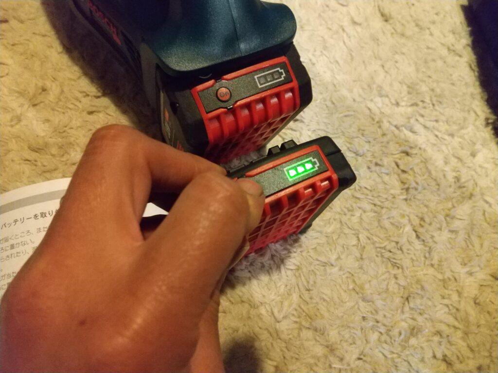 ボッシュのバッテリー