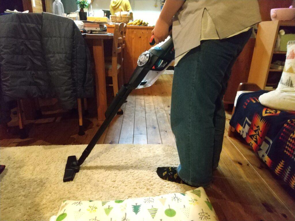 絨毯の掃除