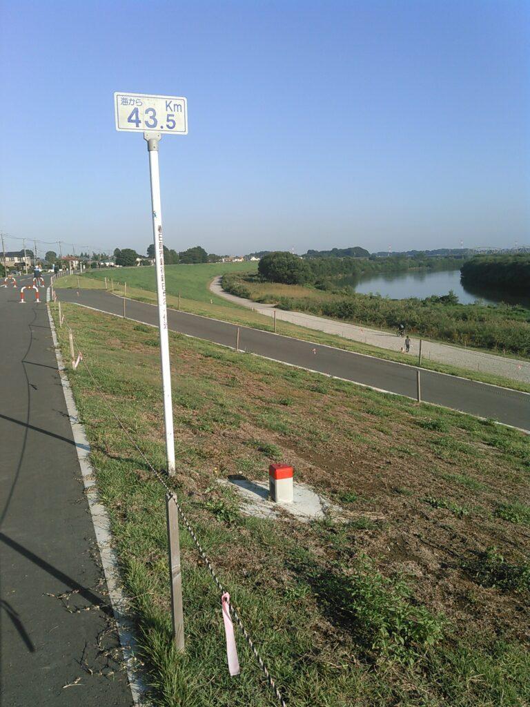 江戸川の堤防
