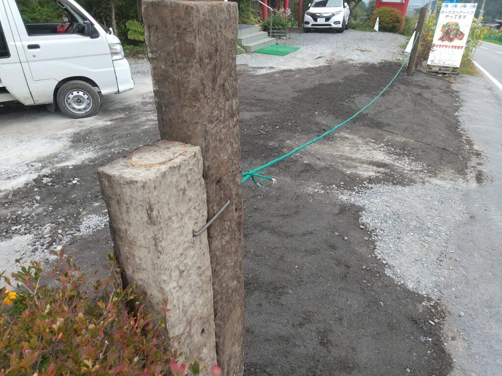 門柱の完成